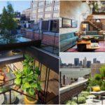 อพาร์ทเม้นท์สไตล์อินดัสเทรียล ลอฟท์ ผสานการตกแต่งที่สวยดิบกับความสดชื่นของสวนในบ้าน