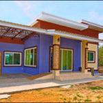 บ้านโมเดิร์นสีสันสดใส มีชีวิตชีวาทุกอณูตารางเมตร 2 ห้องนอน 2 ห้องน้ำ พร้อมที่จอดรถขนาดกว้างรองรับได้ถึง 3 คัน