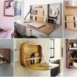 """24 ไอเดีย """"โต๊ะพับได้"""" ช่วยประหยัดพื้นที่ เก็บใช้งานสะดวก สำหรับห้องขนาดกะทัดรัด"""