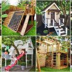 """40 ไอเดีย """"บ้านเด็กเล่นในสวน"""" พื้นที่เสริมสร้างจินตนาการ พร้อมด้วยของเล่นหลากหลายสุดสร้างสรรค์"""