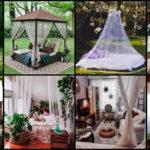 """51 ไอเดียแต่งบ้านด้วย """"มุ้งกันยุง"""" ป้องกันแมลงรบกวน เพิ่มความสวยงามนุ่มนวลให้กับบ้าน"""