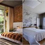 """75 ไอเดีย """"ห้องนอนผนังอิฐ"""" ดีไซน์อบอุ่น เท่ในแบบอินดัสเทรียล เสริมลุคสุดคลาสสิคให้กับห้องนอน"""