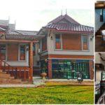 แบบบ้านชั้นเดียวทรงไทยประยุกต์ ดีไซน์ยกพื้นเล่นระดับ3 ห้องนอน 3 ห้องน้ำ พื้นที่ใช้สอย 180 ตร.ม.