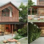 แบบบ้านสไตล์โมเดิร์นกลิ่นอายเอเชีย พร้อมมุมพักผ่อนนอกบ้านสุดร่มรื่น สัมผัสกลิ่นอายสถาปัตยกรรมแห่งโลกตะวันออก