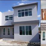 บ้านสองชั้นสไตล์โมเดิร์น 3 ห้องนอน 3 ห้องน้ำ โดดเด่นด้วยรูปทรงสี่เหลี่ยมสะดุดตา พื้นที่ 177 ตร.ม