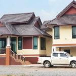 บ้านชั้นเดียวยกพื้นสูงทรงไทยประยุกต์ 3 ห้องนอน 3 ห้องนอน พร้อมใต้ถุนสูง พื้นที่ใช้สอย 180 ตร.ม.