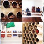 """25 ไอเดีย """"ชั้นวางรองเท้าสไตล์ DIY"""" จัดพื้นที่ให้เป็นระเบียบอย่างมีเอกลักษณ์เฉพาะตัว"""