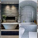 """29 ไอเดีย """"ห้องน้ำโทนสีเทา"""" เนรมิตบรรยากาศสุดพิเศษให้ห้องน้ำของคุณ ด้วยดีไซน์ที่เรียบง่ายและทันสมัย"""