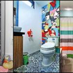 """30 ไอเดีย """"ตกแต่งห้องน้ำสำหรับเด็ก"""" เนรมิตพื้นที่ความสุขเล็กๆ ให้เด็กๆ ได้สร้างสรรค์จินตนาการ"""