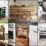 """36 ไอเดียแต่งห้องครัวด้วย """"พาเลทไม้"""" เฟอร์นิเจอร์สไตล์ DIY หลากหลายรูปแบบ"""