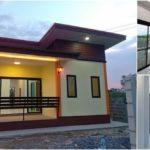 บ้านชั้นเดียวขนาดกะทัดรัด ออกแบบเรียบง่าย สไตล์โมเดิร์น 2 ห้องนอน 1 ห้องน้ำ พร้อมพื้นที่ใช้สอย 63 ตร.ม.