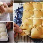 """แบ่งปันสูตร """"ขนมปังหมีน้อย"""" เบเกอรี่สุดคิ้วท์ หอมนุ่มอร่อย เด็กทานได้ ผู้ใหญ่ทานดี"""