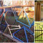 """10 ไอเดีย """"รั้วสวนรีไซเคิล"""" กั้นพื้นที่อย่างสร้างสรรค์ เพิ่มความแตกต่างให้กับบ้านและสวนของคุณ"""