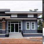 บ้านโมเดิร์นชั้นเดียวโทนสีดำ สวยเท่สไตล์ขรึม 3 ห้องนอน 2 ห้องน้ำ พื้นที่ใช้สอย 147 ตร.ม.