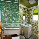 """50 ไอเดีย """"ห้องน้ำโทนสีเขียว"""" ออกแบบพื้นที่ใช้สอยส่วนตัว ด้วยบรรยากาศที่ผ่อนคลายสบายตา"""