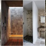 """61 ไอเดีย """"ห้องน้ำผนังหิน"""" เนรมิตบรรยากาศธรรมชาติอันแสนสดชื่น ให้กับช่วงเวลาแห่งการผ่อนคลาย"""