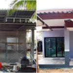 """รีวิว """"กู้ ธอส. สร้างบ้านชั้นเดียว"""" รวมของตกแต่งและเครื่องใช้ไฟฟ้า งบประมาณ 780,000 บาท"""