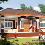 บ้านชั้นเดียวยกพื้นสไตล์ร่วมสมัย รายล้อมไปด้วยบรรยากาศร่มรื่น 3 ห้องนอน 2 ห้องน้ำ ออกแบบเพื่อชีวิตครอบครัวแสนอบอุ่น