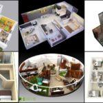 """14 ไอเดีย """"แบบแปลนอพาร์ทเมนต์ 3 มิติ"""" แนวทางออกแบบห้องพัก จัดสรรพื้นที่ใช้งานตามสไตล์ของคุณ"""