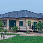 บ้านชั้นเดียวสไตล์คอนเทมโพรารี กลิ่นอายบ้านสวน 3 ห้องนอน 2 ห้องน้ำ พื้นที่ใช้สอย 145 ตร.ม.