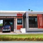 บ้านโมเดิร์นหน้ากว้าง พร้อมเฉลียงและที่จอดรถครบครัน 3 ห้องนอน 3 ห้องน้ำ พื้นที่ 163 ตารางเมตร