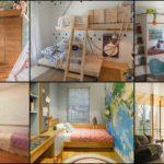 """25 ไอเดีย """"ห้องนอนเด็ก"""" จัดสรรพื้นที่ให้ใช้งานได้หลากหลาย ด้วยมุมเก็บของสวยๆ และเตียงสองชั้นสุดเจ๋ง"""