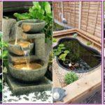 """26 ไอเดีย """"บ่อน้ำขนาดเล็ก"""" เติมมุมชุ่มชื่นให้สวน เพื่อเพิ่มเสน่ห์ดึงดูดใจ"""