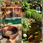 """26 ไอเดีย """"น้ำตกในสวน"""" ฟังเสียงน้ำตก ผ่อนคลายอารมณ์ เพิ่มบรรยากาศเย็นสบาย"""