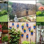 """35 ไอเดีย """"รั้วบ้านสร้างสรรค์"""" เพิ่มพื้นที่แสนสวยชวนมองให้สวนหลังบ้าน"""