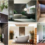 """47 ไอเดีย """"ห้องน้ำสวยๆ"""" ดีไซน์หรูหรา หลากหลายรูปแบบ ตั้งแต่แบบอบอุ่นไปจนถึงแบบทันสมัย"""