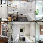 """25 ไอเดีย """"ห้องน้ำสไตล์อินดัสเทรียล"""" โชว์ผิววัสดุ เพิ่มความสวยงามเป็นธรรมชาติ แตกต่างไม่ซ้ำใคร"""