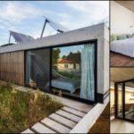 บ้านโมเดิร์นคอนกรีตขนาดสามชั้น เน้นความดิบเปลือย พร้อมดีไซน์โปร่งโล่ง เสริมความสดชื่นด้วยสวนสวยติดพื้นที่ใช้ชีวิต