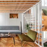 Apartment V อพาร์ทเมนต์สุดเรียบง่าย โดดเด่นด้วยดีไซน์งานไม้สุดอบอุ่น อบอวลไปด้วยกลิ่นอายธรรมชาติเต็มอณู