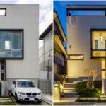 บ้านโมเดิร์นทรงกล่องสีขาว โดดเด่นด้วยช่องรับแสงขนาดใหญ่ แฝงไปด้วยรายละเอียดการตกแต่งภายในสุดเจ๋ง