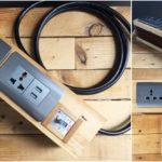 """DIY """"รางปลั๊กพ่วงแบบบ้านๆ"""" ไอเดียของใช้ภายในบ้านสุดวินเทจ ปลอดภัยและใช้งานได้จริง"""