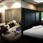 """เปลี่ยนห้องนอนสุดรกอายุเกือบ 10 ปี ให้เป็น """"ห้องนอนใหม่ในฝัน"""" สวยงามทันสมัยยิ่งกว่าเดิม"""