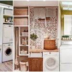 """27 ไอเดีย """"ห้องซักล้าง"""" ดีไซน์เรียบง่ายกะทัดรัด สวยงามน่าใช้งาน เพิ่มความสุขในการทำงานบ้าน"""