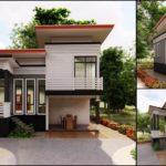 แบบบ้านชั้นครึ่งสไตล์โมเดิร์น ออกแบบใต้ถุนยกสูง พร้อมเฉลียงหน้าบ้านโปร่งโล่ง
