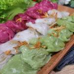 """""""ข้าวเกรียบปากหม้อไส้กุ้ง"""" ของว่างสีสวยสไตล์ไทย พร้อมกับสูตรแป้งนุ่ม ทานกันเพลินๆ อร่อยได้ทั้งวัน"""
