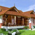 แบบบ้านชั้นเดียวสไตล์ไทยประยุกต์ 4 ห้องนอน 2 ห้องน้ำ สวยงามทันสมัย แต่ยังคงกลิ่นอายของบ้านไทยดั้งเดิม
