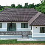 บ้านชั้นเดียวสไตล์คอนเทมโพรารี 3 ห้องนอน 3 ห้องน้ำ พร้อมเฉลียงกว้างรองรับกิจกรรมหลากหลาย