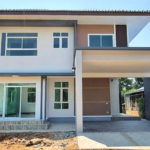 บ้านสองชั้นสไตล์คอนเทมโพรารี พื้นที่ใช้สอยกว้างขวาง 3 ห้องนอน 2 ห้องน้ำ พื้นที่ 152 ตร.ม.