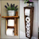 """16 ไอเดีย """"ที่เก็บกระดาษชำระ"""" เป็นได้ทั้งที่เก็บและของตกแต่ง เพิ่มบรรยากาศใหม่ๆ ให้ห้องน้ำ"""