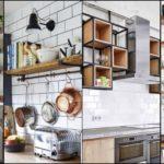 """16 ไอเดีย """"ชั้นวางของในครัวแบบเปิด"""" เพิ่มความสะดวกในการหยิบจับ จัดวางของใช้ในครัวอย่างสวยงามเป็นระเบียบ"""