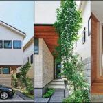บ้านญี่ปุ่นสองชั้นทรงหน้าแคบ เรียบง่ายสไตล์มินิมอล ฟังก์ชันครบครันบนพื้นที่สุดกะทัดรัด