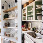 """20 ไอเดีย """"ชั้นวางในครัว"""" เก็บของได้เป็นระเบียบ สะดวกต่อการใช้งาน เพิ่มความสวยงามให้กับห้องครัว"""