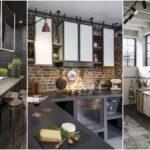 """35 ไอเดีย """"ห้องครัวสไตล์อินดัสเทรียล"""" ครัวสุดเท่โชว์พื้นผิววัสดุ สะท้อนความเรียบง่ายไม่ยุ่งยาก"""