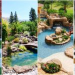 """36 ไอเดีย """"บ่อน้ำในสวน"""" เติมเต็มธรรมชาติและความชุ่มชื่นให้สวนสวยของคุณ"""
