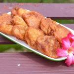 """ชวนมาทำ """"โตนดทอด"""" ขนมโบราณที่หาทานได้จากเมืองเพชรบุรีเท่านั้น!!"""