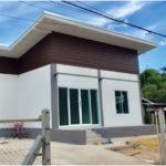 """รีวิว """"สร้างบ้านโมเดิร์นชั้นเดียว"""" 2 ห้องนอน 2 ห้องน้ำ งบ 790,000 บาท ที่จังหวัดอุบลราชธานี"""